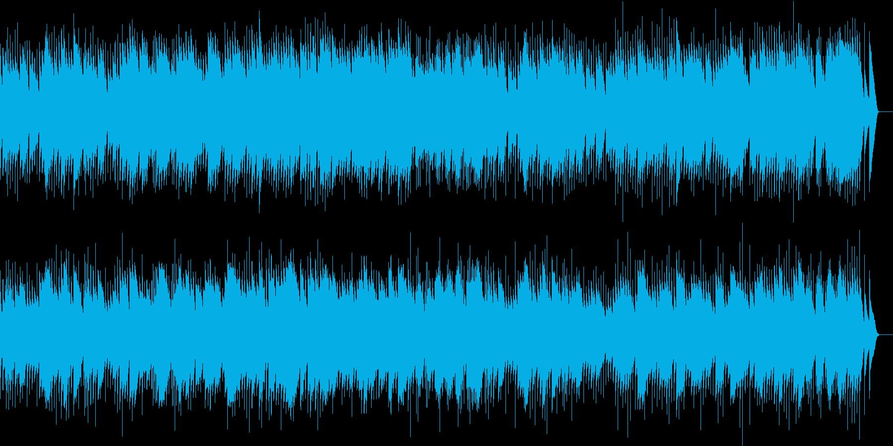 メンデルスゾーン 春の歌 (オルゴール)の再生済みの波形