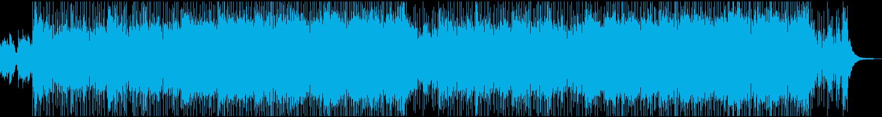快晴の大空・生スライドGtの再生済みの波形