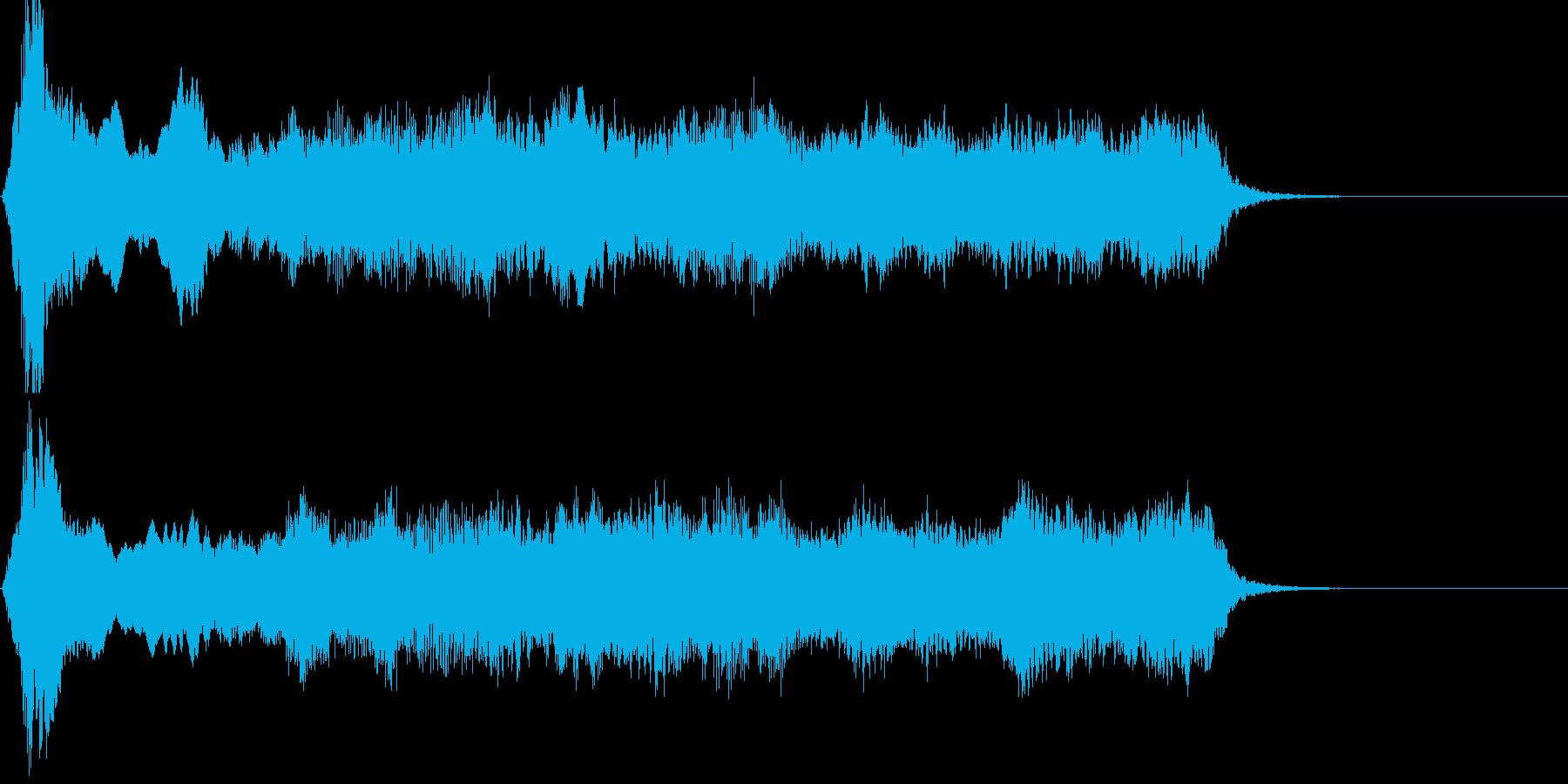エネルギー・魔力#12(残響あり)の再生済みの波形