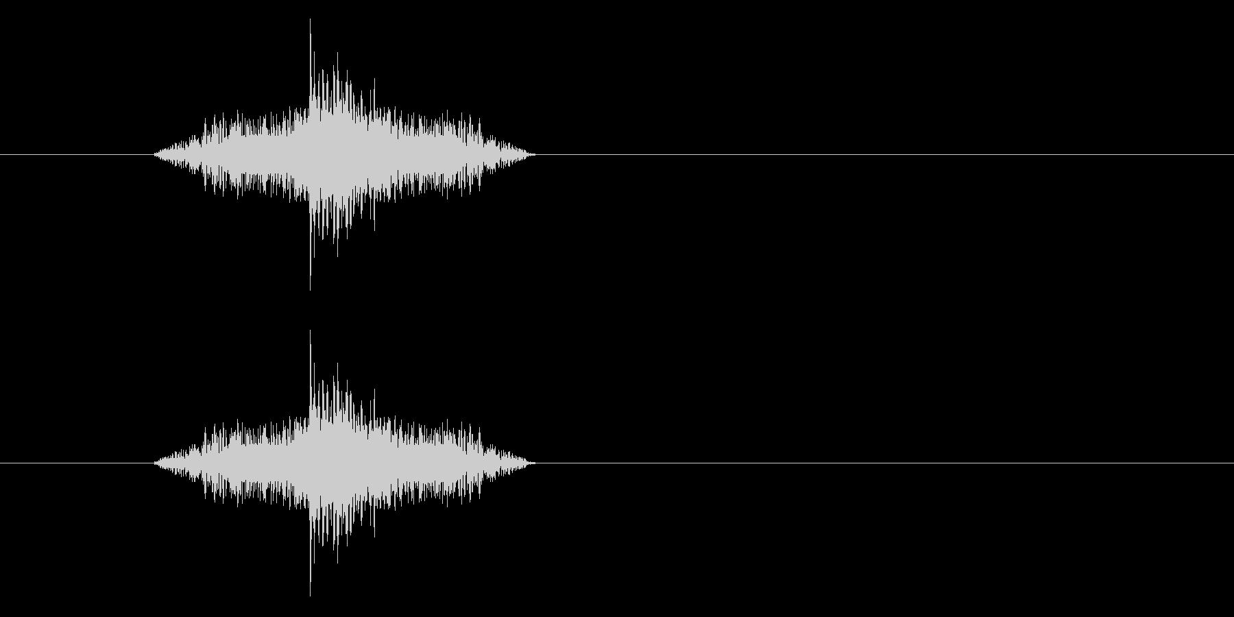 ジャン!リバースオケヒその3の未再生の波形