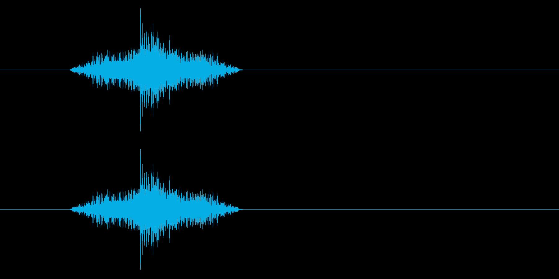 ジャン!リバースオケヒその3の再生済みの波形