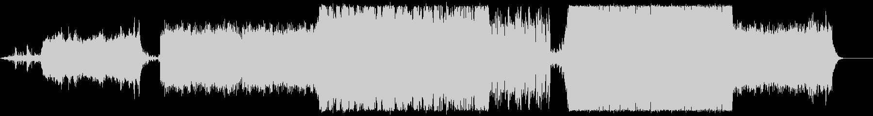 オルガンとクワイアのシネマティック曲の未再生の波形