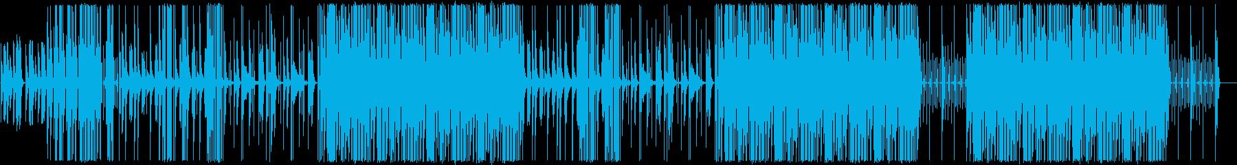 トラップ/ヒップホップ/怪しい/ゲームの再生済みの波形