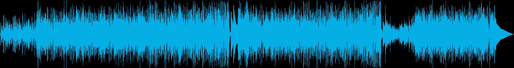 シンプルで遊び心あるポップなサウンドの再生済みの波形