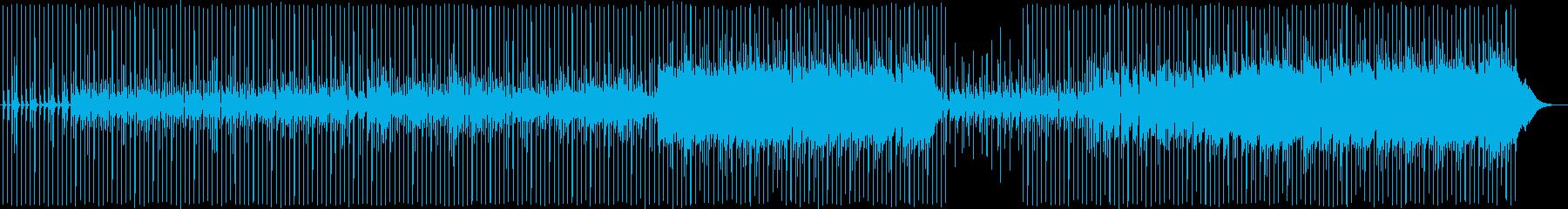 美しいメロディーを持つアコースティ...の再生済みの波形