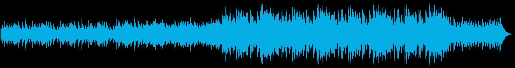 ハープが印象的な切なくて爽やかな曲の再生済みの波形
