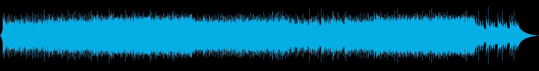 爽やかなアコースティック・ロックの再生済みの波形