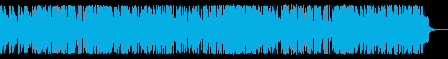 レイジー、ジャズ、ピアノ、トランペットの再生済みの波形