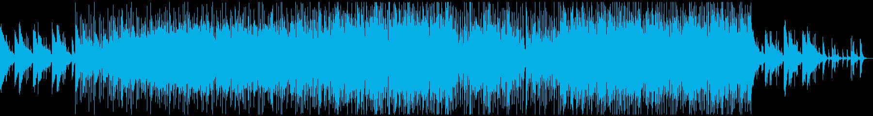 Lo-Fiビート夜チル&リラックスR&Bの再生済みの波形
