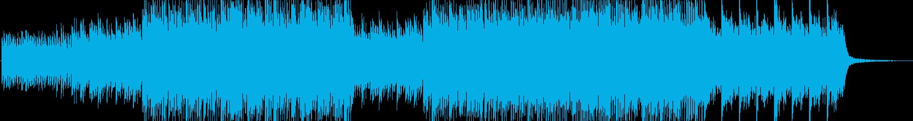 緊迫感がありミステリアスなピアノインストの再生済みの波形
