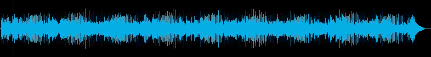 軽快なカントリーの再生済みの波形