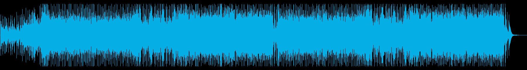 和風ロック・壮大なメロディアスバトルの再生済みの波形