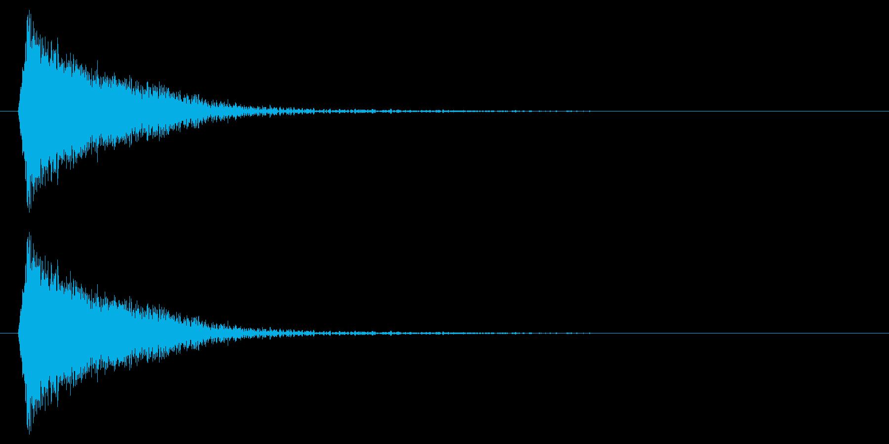 シューン!(敵消滅/撃破)の再生済みの波形