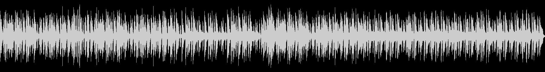 メルヘン明るく跳ねる可愛いワルツ(ループの未再生の波形