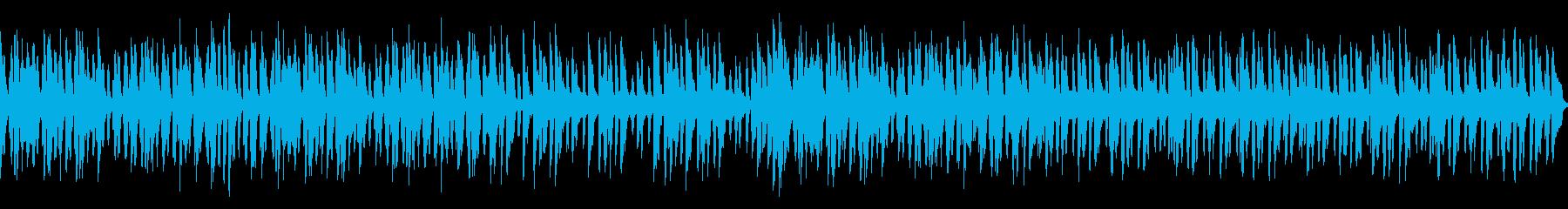 メルヘン明るく跳ねる可愛いワルツ(ループの再生済みの波形