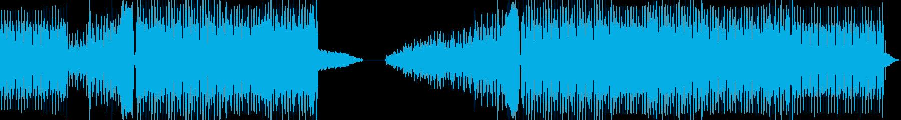 80'sダンスハウスディープハウスの再生済みの波形