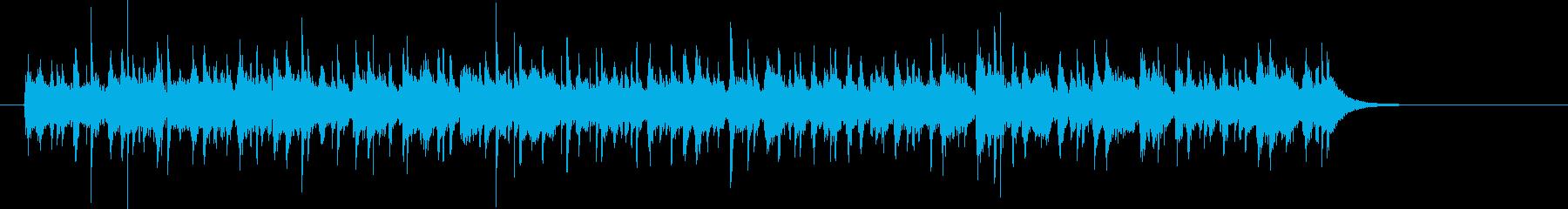 変拍子な曲ですの再生済みの波形