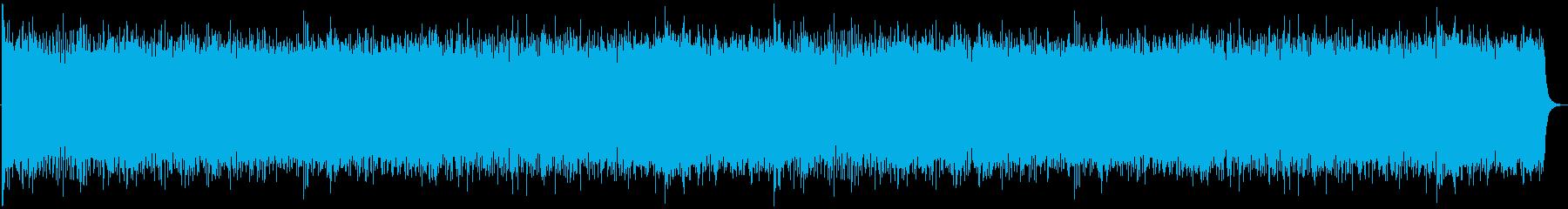 和風シネマティック戦闘音楽の再生済みの波形