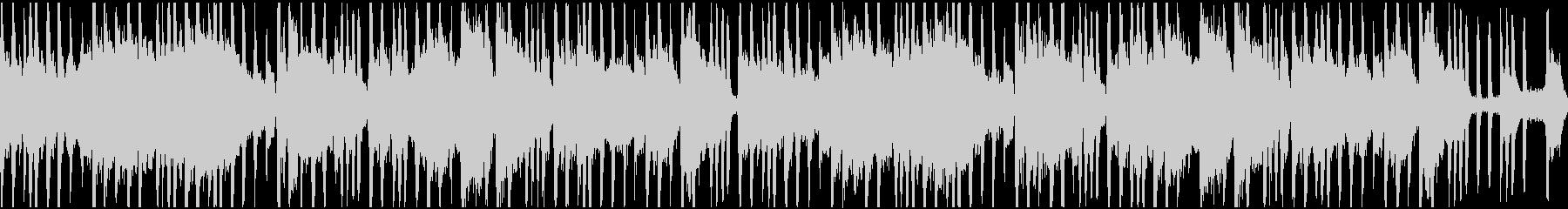 メロウなヒップホップ系ループの未再生の波形