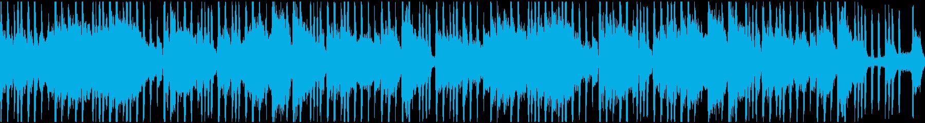 メロウなヒップホップ系ループの再生済みの波形