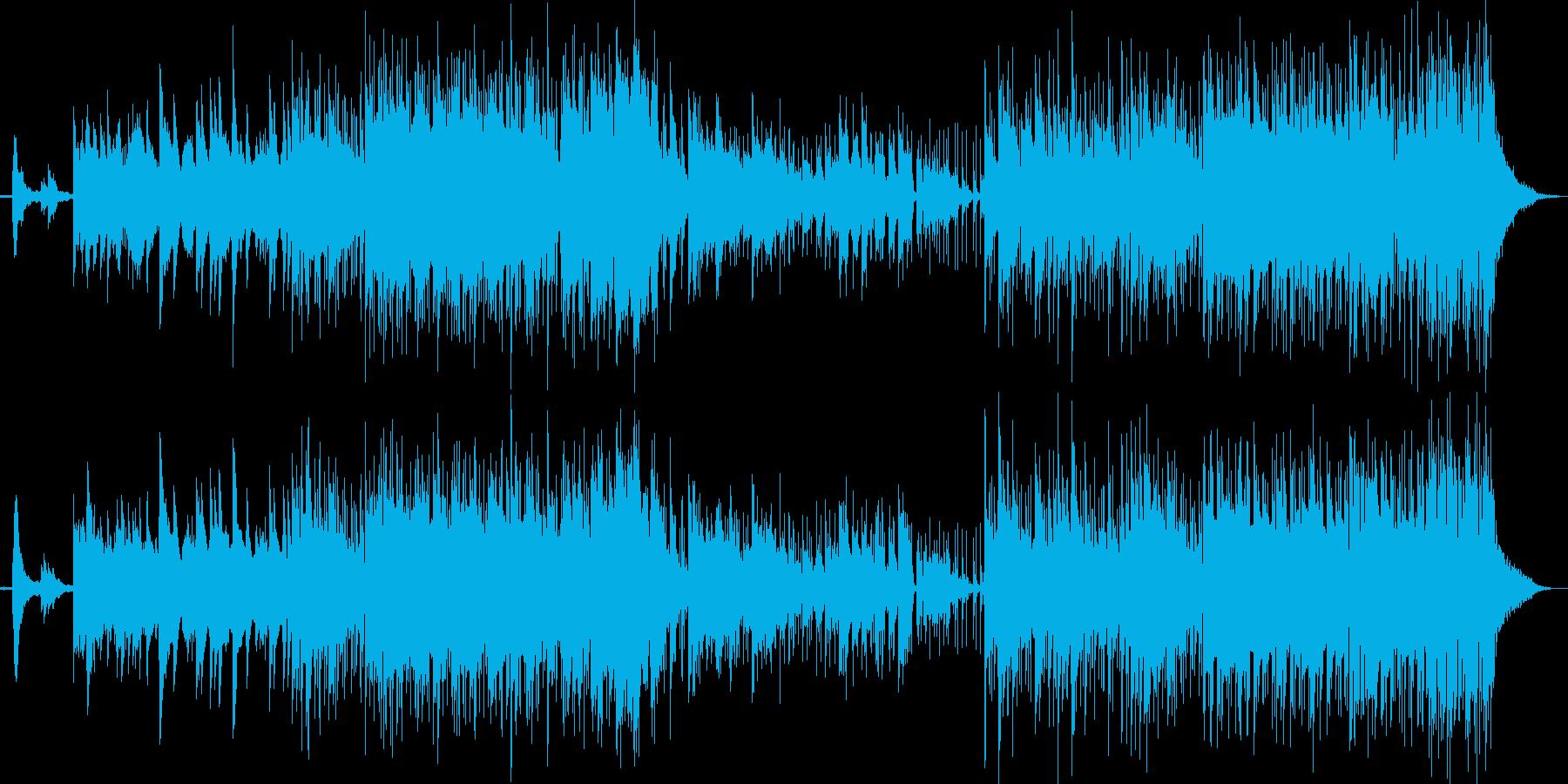 清潔感のあるイージーリスニング風ポップの再生済みの波形