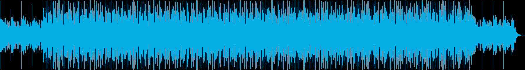 製品紹介、プレゼン、プロジェクトの再生済みの波形