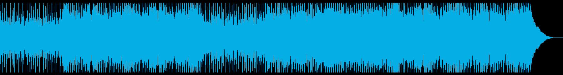 明るくポジティブなポップロックの再生済みの波形