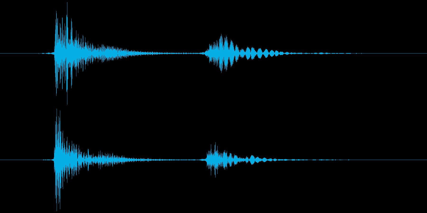 ブロック (置く、持つ等) カコッの再生済みの波形