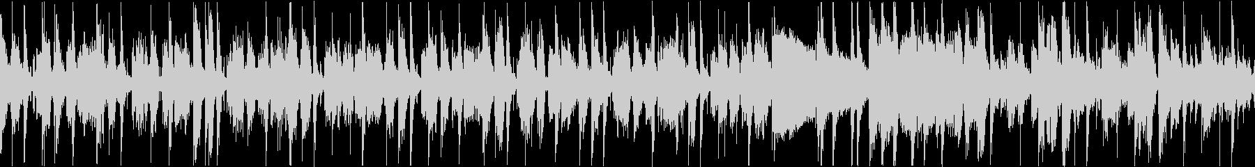 重みのあるクールなファンクギタートラックの未再生の波形