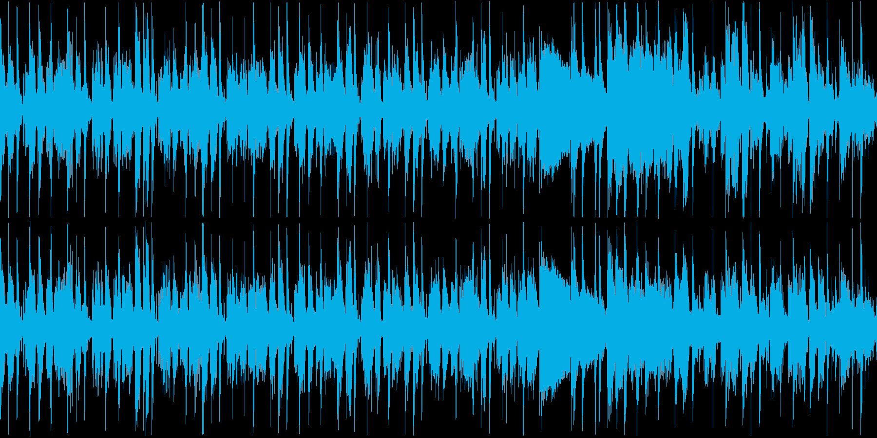 重みのあるクールなファンクギタートラックの再生済みの波形
