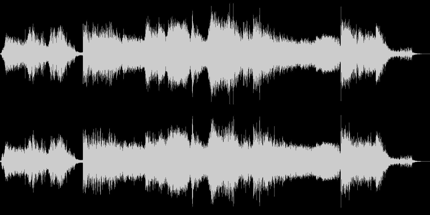 クラッシャゲドンの未再生の波形