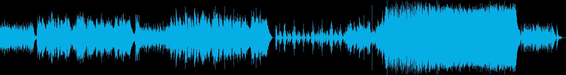 尺八が奏でるメロディーが美しいバラードの再生済みの波形