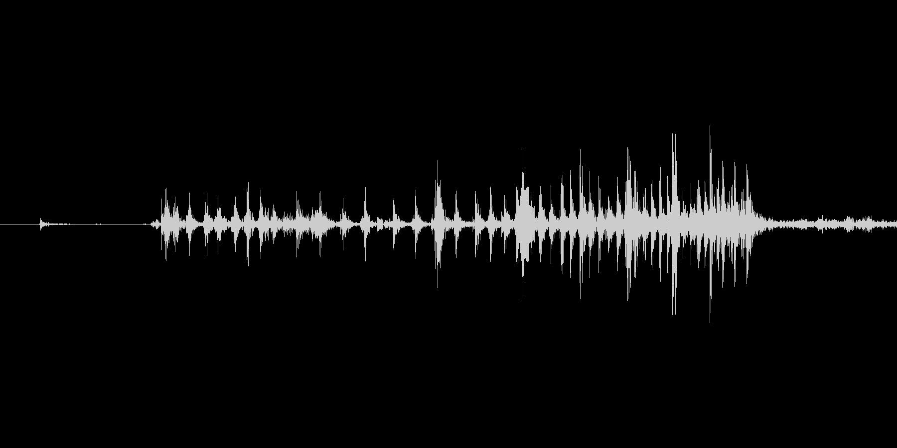 ゲームの効果音 4の未再生の波形