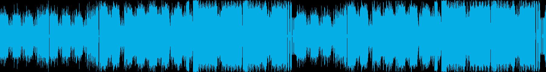 8bitチップチューン:アクション#01の再生済みの波形