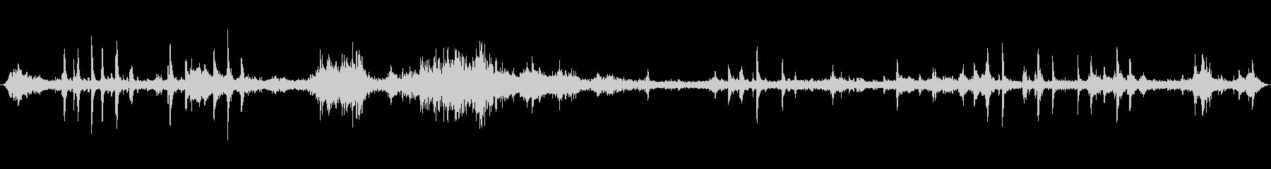 ヘビーウィンドブローイング、メタル...の未再生の波形