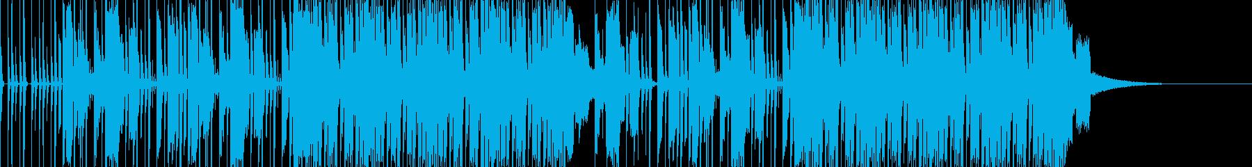 ポップ テクノ ファンク 実験的な...の再生済みの波形