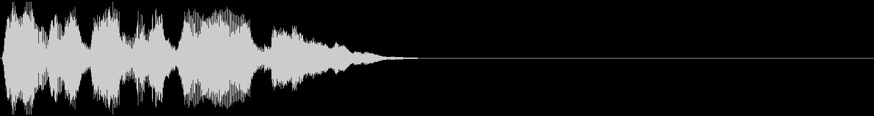 ファンファーレ/レベルアップ/キラーンの未再生の波形