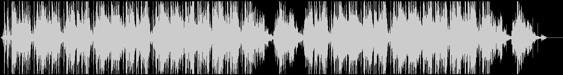 Lo-Fi、ジャジーなヒップホップの未再生の波形