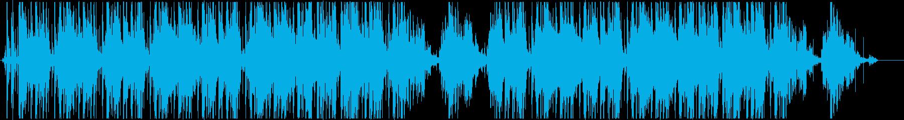 Lo-Fi、ジャジーなヒップホップの再生済みの波形
