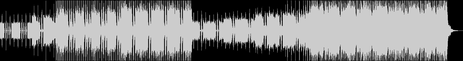ノリのいい切れ味鋭いシンプルなロックの未再生の波形