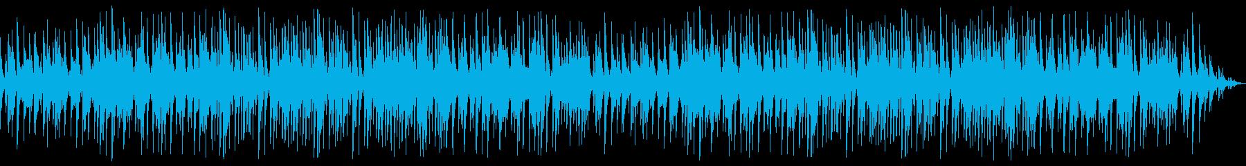 大人な雰囲気のピアノジャズの再生済みの波形