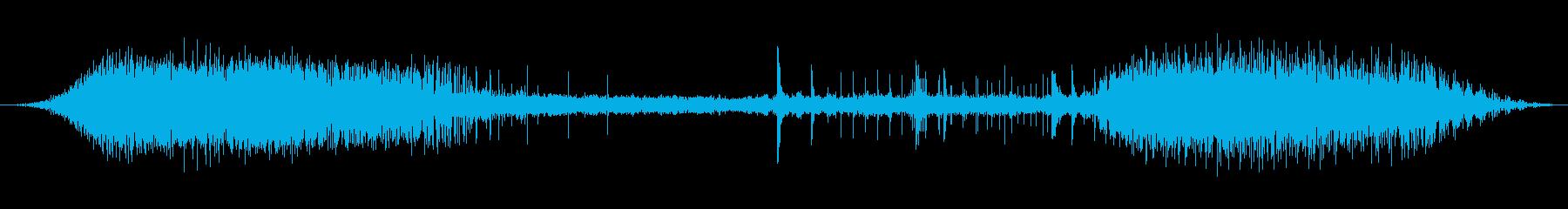 サーカスの拍手0-30の再生済みの波形