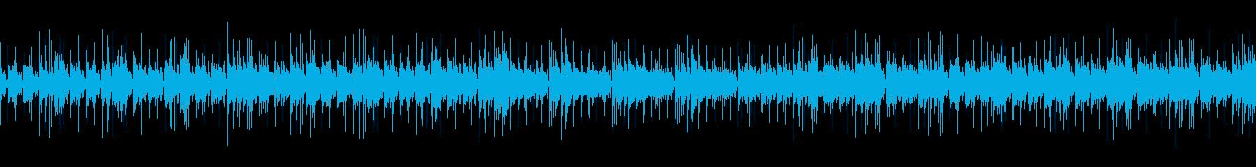 日常シーンで汎用性の高いアコギBGMの再生済みの波形
