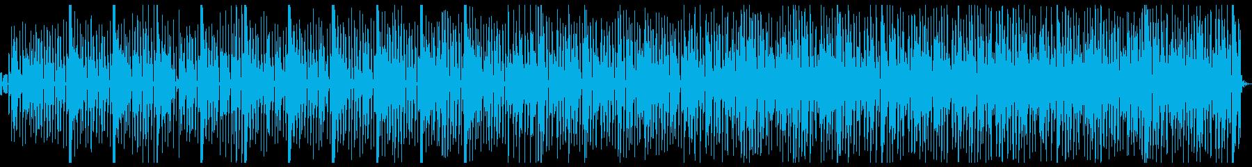 ティーン ポップ テクノ ドラム ...の再生済みの波形