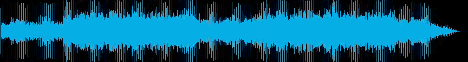 明るく爽やかな日常を意識したBGMの再生済みの波形