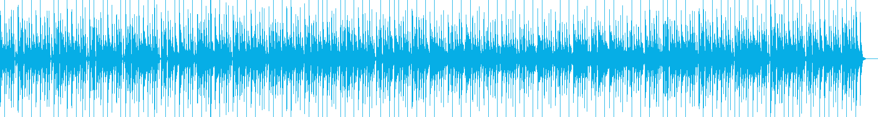 クラビネットとカリカリなギターリフ...の再生済みの波形