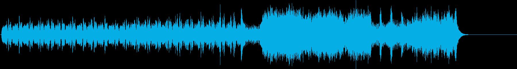 ユーモア溢れるポップ/セミクラ/BGの再生済みの波形