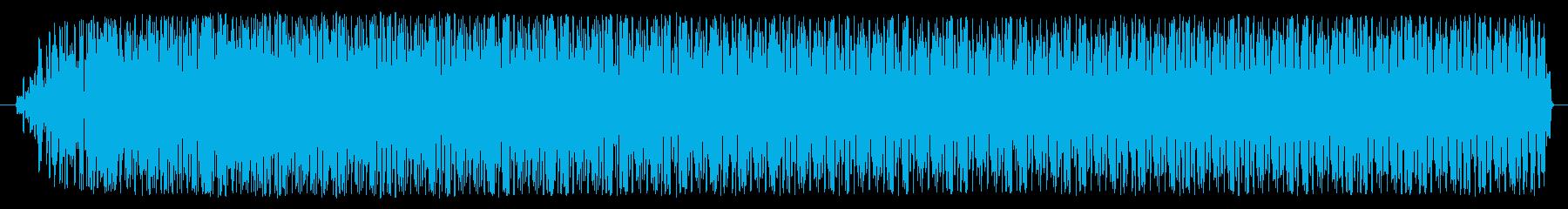 ブワ〜ダダダダ(エンジンが響く音)の再生済みの波形