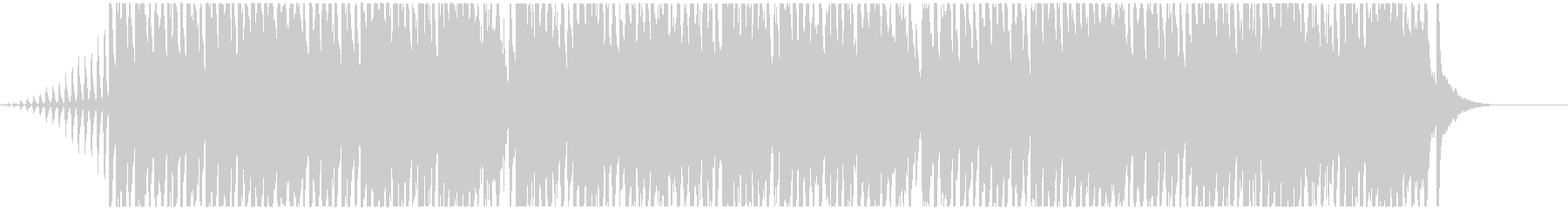 Fantastic and sparkling BGM's unreproduced waveform