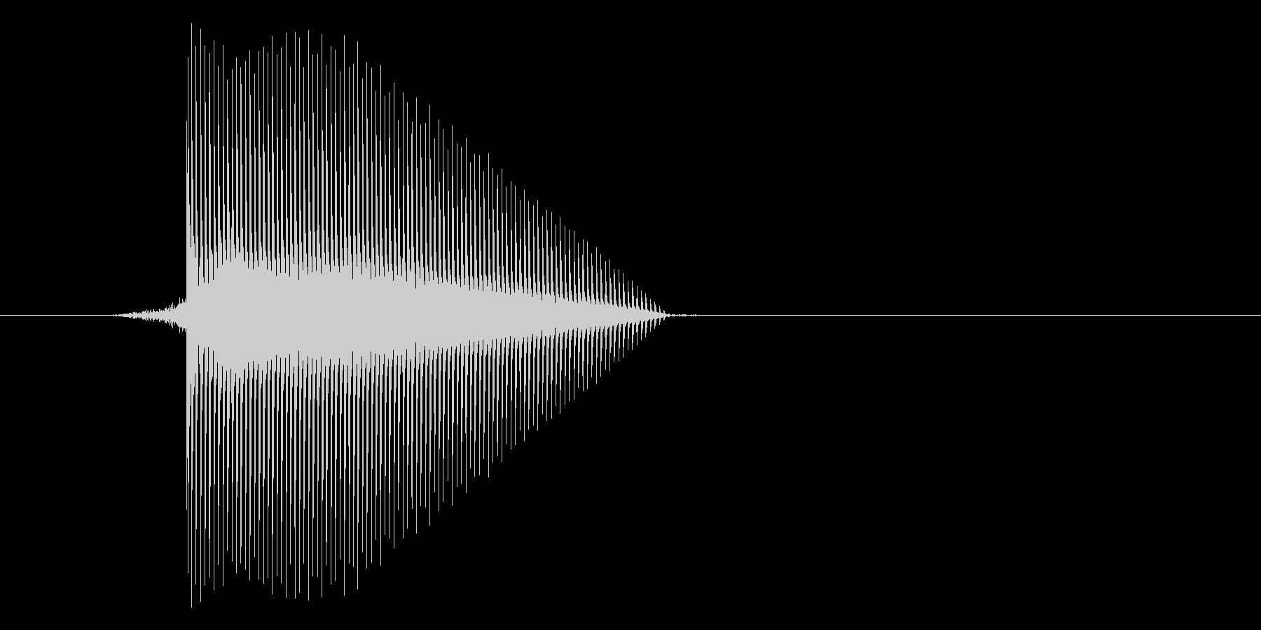 ゲーム(ファミコン風)セレクト音_006の未再生の波形